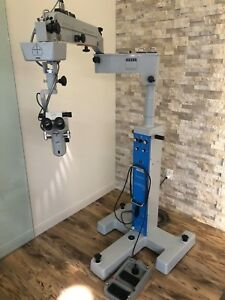 Zeiss Opmi 6 Cfc Surgical Ophthalmic Microscope On Universal S3 Base Stand