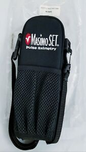 New Masimo Radical Series Handheld Case Black With Clear Plastic Front