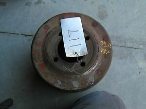 Farmall H Hv 300 350 Sh Tractor Ihc Paper Belt Pulley 9 1 2 Ready To Use
