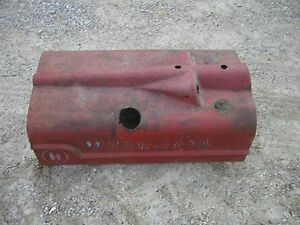 Early Mccormick Farmall H Tractor Ih Original Distilet Hood For Over Engine Rare