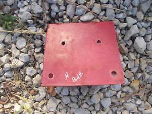 Farmall H Tractor Ih Battery Box Holder Platform Bracket To Tractor