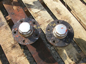 Allis Chalmers C Tractor Ac Front Hubs Caps For Rims