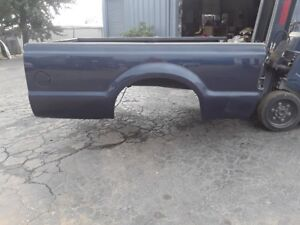 Ford F250 8 Ft Long Blue Truck Bed Super Duty Box Needs Crossmembers Box