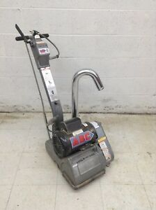Clarke Ez 8 Drum Sander Floor Power Sanding Wood Floors Commercial Machine Used