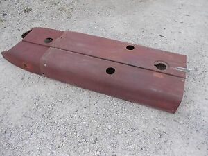 Farmall 504 544 Diesel Rowcrop Tractor Ih Ihc International Hood Set Pair