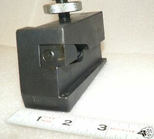 Phase Ii 250 407 Universal Parting Blade Holder 14 20 Lathe Swing Quic Change