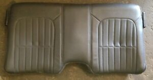 93 96 Camaro Z28 Firebird Trans Am Rear Top Back Support Seat Gray Leather 95