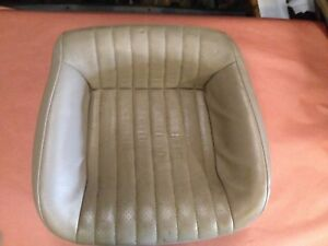 93 96 Camaro Z28 Rs Firebird Formula Rear Back Bottom Seat Tan Leather 70