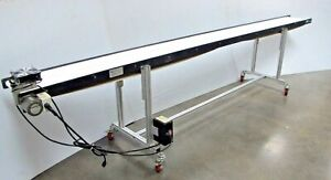 12 X 12 Mini Mover Lite Series Belt Conveyor Model Tcmm l 12 X 144 Nice