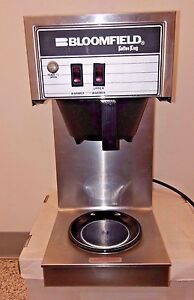 Bloomfield 8543 Koffee King Two Warmer Inline Pour over Lo profile Coffee Brewer