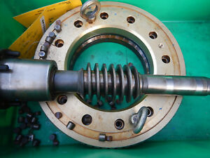 Large Worm And Worm Gear For Kitamura H400 Machinist Tooling Parts