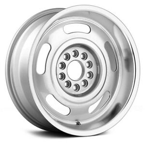 Us Corvette Rally Series 623 Wheels 17x8 0 5x127 Silver Rims Set Of 4