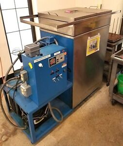 Blakeslee Vapor Degreaser Parts Cleaner Built In Chiller Large Stainless Tank