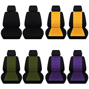 Truck Seat Covers 2012 2018 Dodge Ram Customized Front Set 23 Color Choices Abf