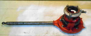 Ridgid No 65 r Pipe Threader With Handle 1 To 2 Pipe