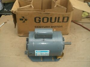 Gould Century 3 4 Hp Electric Motor 1725 Rpm