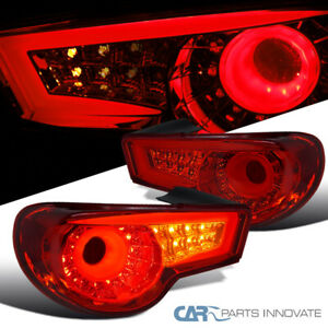 For 12 16 Scion Frs Subaru Brz Red Led Neon Tube Sequential Signal Tail Lights