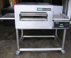 Lincoln Impinger Natural Gas Powered Conveyor Oven W Sandwich Door Pizza Subs