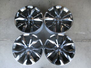 Four Take Off 2016 2017 2018 Lexus Nx200 Nx300 Factory 18 Wheels Rims Oem 74334