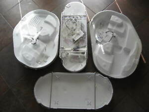 Lot 4 Four Steris System 1e Cleaning Containers And Other Cleaning Accessories