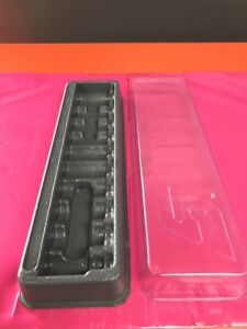 Snap On Tools 10piece Pakty148 Socket Tray Organizer