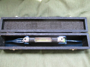 Moore And Wright Machinist Level Made In England