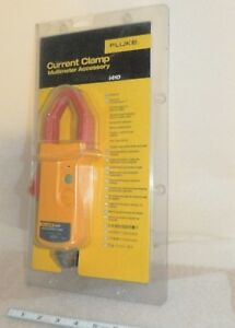 Fluke I410 Ac dc 400 A Clamp Meter Current Probe Lite Use With Manual