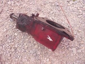 Farmall C Sc B A Tractor Ih Ihc Belt Pulley Drive Assembly Drive Gear