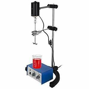 Electric Overhead Stirrer Mixer 0 2000 Rpm 0 120 Mins For Lab Mechanical Mixer