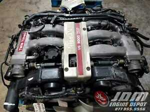 90 95 Nissan 300zx 3 0 Twin Turbo Engine 5spd Trans Loom Ecu Jdm Vg30dett 938805