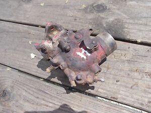 Farmall H Hv Early Sh Tractor Ih Ihc Original Working Carburetor Assembly