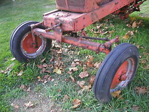 Allis Chalmers Wd Wd45 Tractor Factory Wide Frontend Complete W Hubs Rims Tires