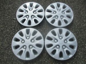 Genuine 1996 To 1999 Plymouth Breeze 14 Inch Hubcaps Wheel Covers Set