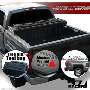 Tri fold Hard Tonneau Cover tool Bag Tfh 1988 Chevy C10 C k Silverado 6 5 Bed