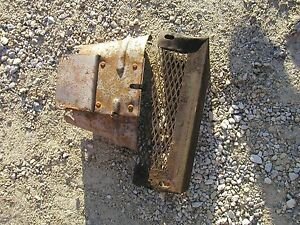 John Deere B Tractor Jd Pto Shield And Frame Rail Mount Tool Box