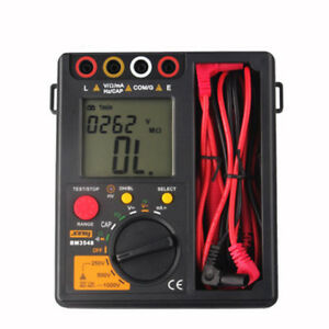 1x Hitester digital Digital Multimeter Bm3548 Insulation Test Megger