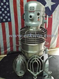 Hobart 60 Qt Dough Bakery Pizza Mixer H600t 208 230v 3 Phase
