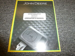 John Deere Gator Xuv550 S4 Utility Vehicle Owner Operator Manual Omm164562i1
