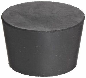 Plasticoid M29 Solid Tapered Natural Rubber Stopper 15 16 Top Diameter 45