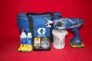 Graco 17n166 Tc Airless Paint Sprayer W 2 20v Bat Dcb203 Dcb115 cp1041869