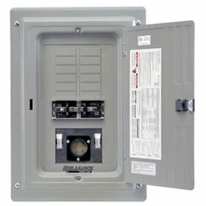 Reliance Controls 100 amp Indoor Transfer Panel W 30 amp Power Inlet