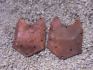 Allis Chalmers Wd 45 Tractor Pair 2 Ac Fender Mounting Brace Bracket Brackets