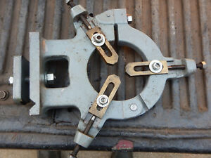 Older Small Metal Lathe Steady Rest Assembly Machinist Tooling