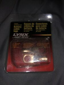 Lynx Battery Cable Lugs 06003 New