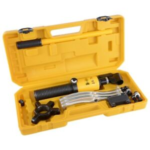 5 Ton Hydraulic Gear Puller Pulling 3in1 Pumps Oil Tube Drawing Machine W Case