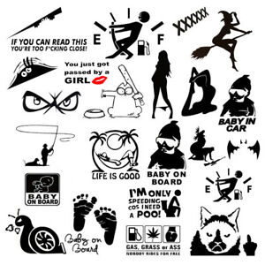 Funny Auto Reflective Car Hood Vinyl Decal Sticker For Truck Racing Window Wall