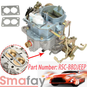 New 258 Engine Carburetor Type Carter For Jeep Wagoneer Cj5 Cj7 2 Barrel 6 Cil