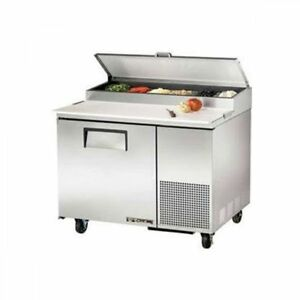 New True Tpp 44 44 5 Pizza Prep Table 1 Door Holds 6 1 3 Size Pans