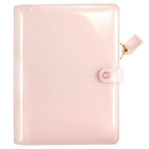 webster s Pages A5 Patent Petal Pink Planner Kit