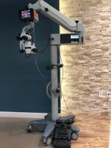 Alcon Luxor Surgical Ophtahlmic Microscope With Illumin i Amp Foot Pedal Luxor